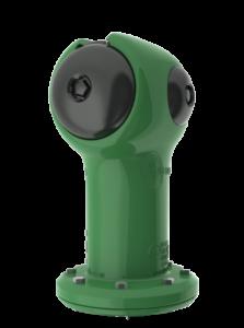 Green Spartan Fire Hydrant